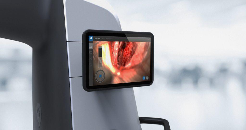 HYVE RoboticScope Display für BHS Technologies