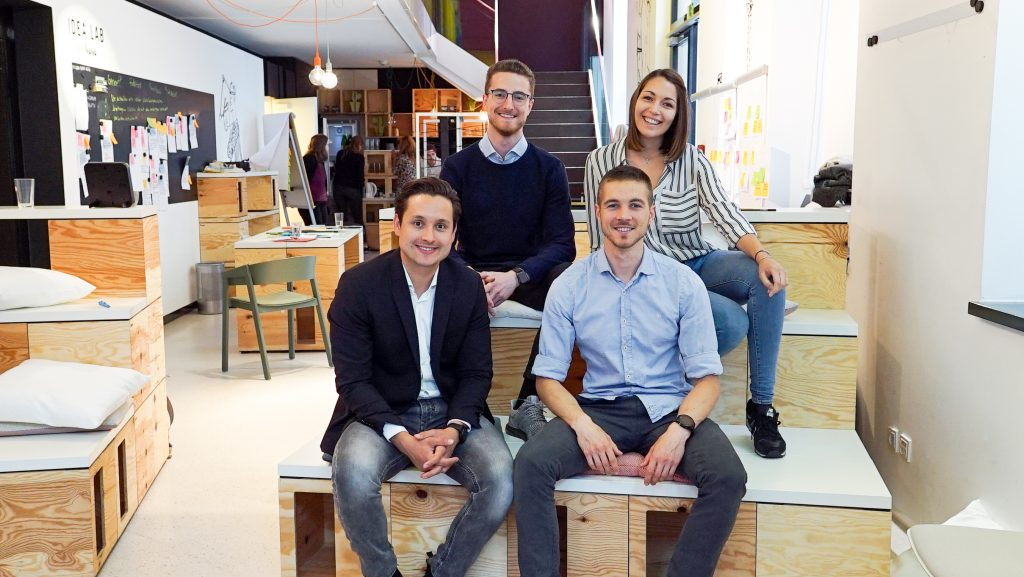 HYVE Vienna Team beim Open Innovation Workshop