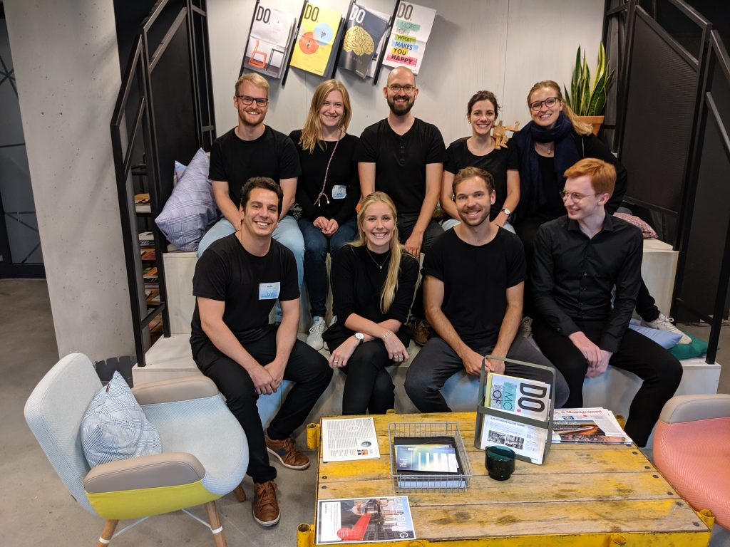 HYVE Team at Co-Pace Incubator Continental