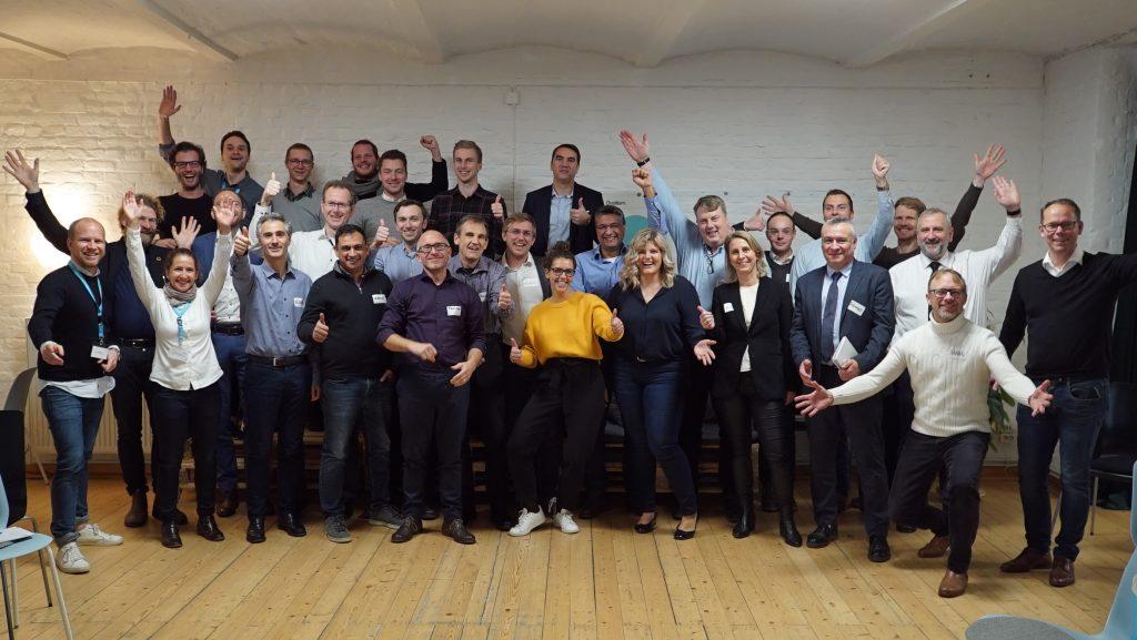 Teilnehmende des Workshops von TRATON und HYVE in Berlin