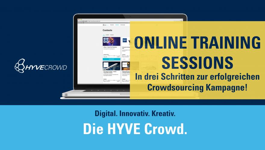 Die HYVE Crowd online training session