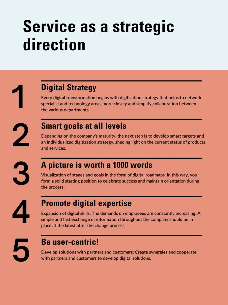 service as a strategy framework